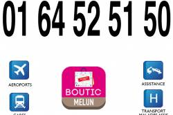 TAXIS MELUN - Voyages / Transports Melun